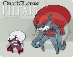 Outlaw pokemon - Pilfair by Prinny-Dood
