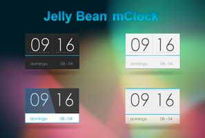 jelly bean mClock by riickyART