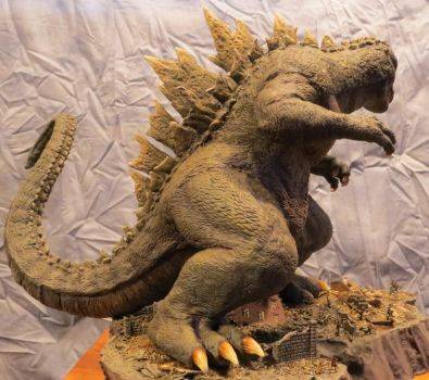 Always Godzilla Diorama: Hmmm? by Legrandzilla