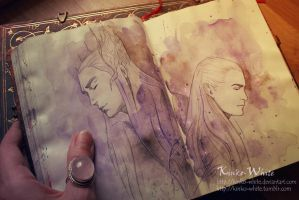 Royal Family of Mirkwood by Kinko-White