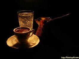 Turkish coffee by FotoTiryaki