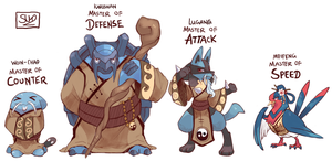 The Blue Masters by fu-fighters