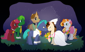 Night Wedding by EllisArts