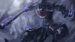 Shadow Monkey Wukong by nosaj7541