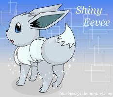 Shiny Eevee by Bluekiss131