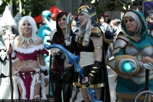 Ashe and the Ladies by Missyeru