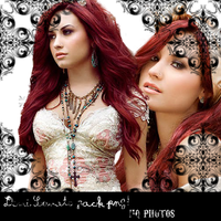 Demi Lovato png pack HQ by Yourdirection