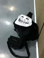 A Lone Trollface Mask by GamerSpax