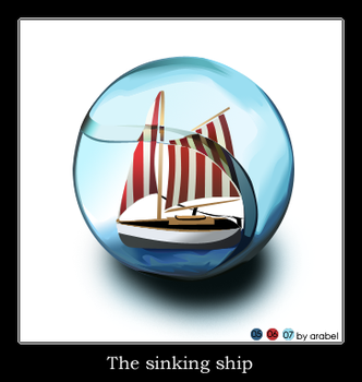The sinking ship by Sternentor