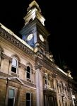 Clocktower at the heart of Dunedin NZ by imperidal