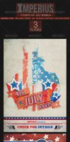 Fourth of July Bundle - Flyer Template - Imperius by ImperiusDesigns