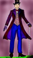 Willy Wonka costume 1 by Selinelle
