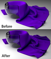 Want to Learn How to Blender - Blender Ad - Cloth by lyssagal