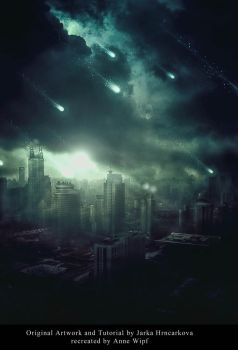 TMM-A3P2 Apocalyptic Sci-Fi Photomanipulation by annewipf