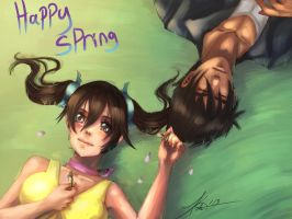 Xiaoyin Spring time by kawaii-chibi-kotou