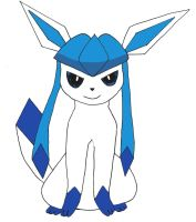 Glaceon Colored by MasterPakops