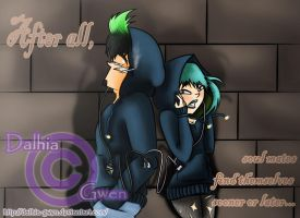 DxG: After all, soulmates find themselves by Dalhia-Gwen