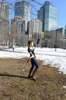Emily On the Boston Common, A Twirling 11 by Miss-Tbones