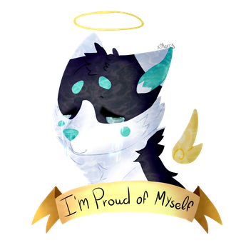 Im Proud of Myself (Positive vent?) by Miw96