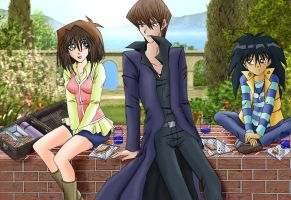 Picnic In The Kaiba Garden by Cleopatrawolf