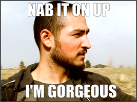 UberHaxorNova - Nab It On Up, I'm Gorgeous by CreatureHub-Laughs