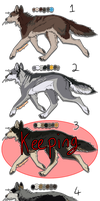 Canine Auction/ Adoptables -CLOSED- by Jenny2-point-0