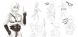 If Altair is stickman by PurpleShyMoon