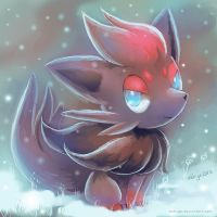 Zorua Sketch by eldrige