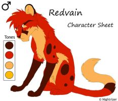 Redvein Character Sheet redo by Nightrizer