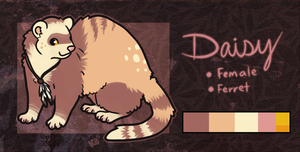 Daisy Ferret - SOLD by pandapoots