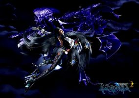 Bayonetta2  The Past  wallpaper by EvilMaybe