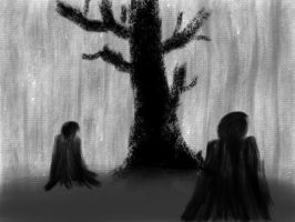 meet me at the black tree by PhantomMonkey