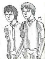 Jon and Kaito for Johnnyxr9 by guelpacq
