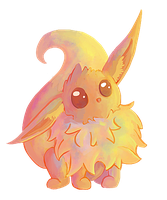 eevee keychain by Blubble-The-Blubs