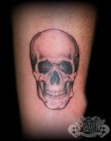 Small Skull by state-of-art-tattoo