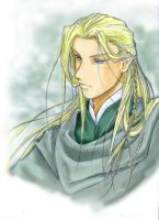 Sketch of Legolas by cat-cat