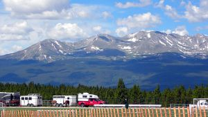 Mountains Over the Rodeo by jltrafton