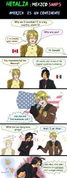 Hetalia America is a continent by chaos-dark-lord