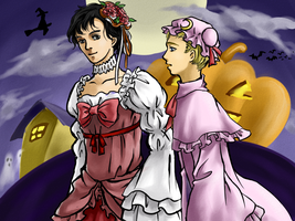 Halloween Witchs by HuoYaoRi