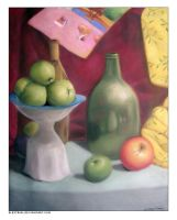 Apples Still Life by elestrial