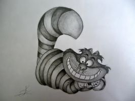 Cheshire cat by Sam12345678900