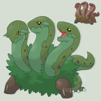 Grass Starter3 Serpentreo by mssingno