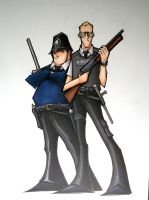 hot fuzz by mjfletcher