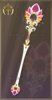 Sunset Scepter (CLOSED) by Rittik-Designs