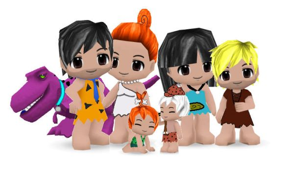 The Flintstones Buddypoke by Ben2DJammin