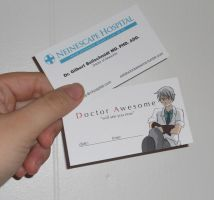 Business Cards Front-Back by Arkham-Insanity
