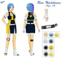 Ran Nishikawa - Reference new by Rachiko
