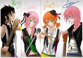 FFXIII Band Heroes by RedKid11
