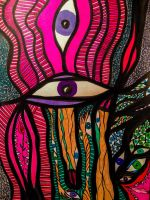 Eye of what is Yours, Mine, and Ours by libbydelbarrio