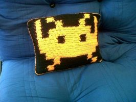 space invaders cushion 1 by cted5692